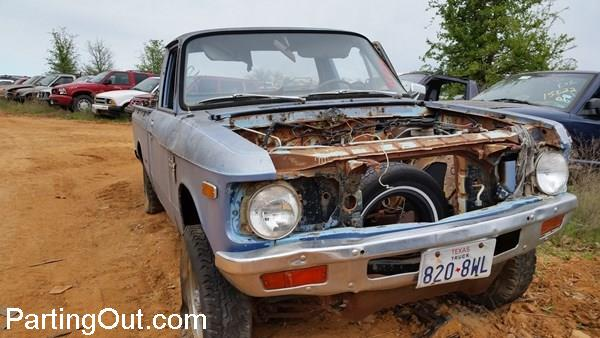 Parting Out Success Story:  Ron Finds a Chevy LUV 4×4 Salvage Pickup Cab on PartingOut.com