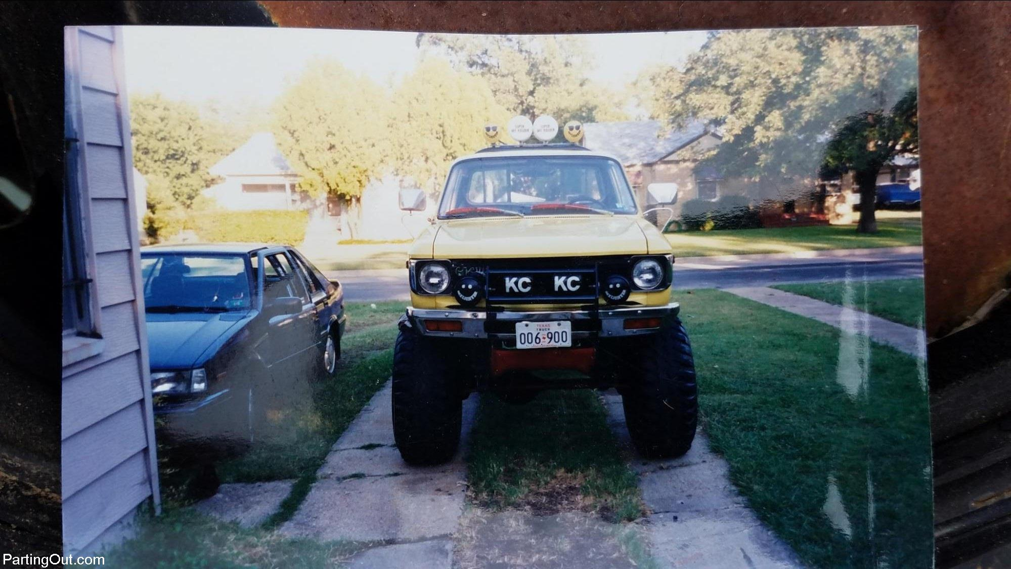 Parting Out Success Story: Ron Finds a Chevy LUV 4×4 Salvage Pickup ...